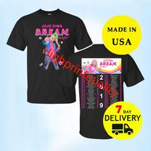 JoJo Siwa Shirt Dream Tour 2019 T-Shirt 2 side Black Men Size M-L-XL-2XL... - $23.99+