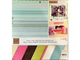 "Heidi Grace Design Daisy Dear 12x12"" Specialty Cardstock Paper Pad, 48 Sheets"
