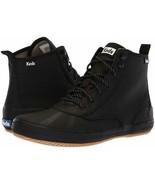 Keds WF58943 Women's Scout Boot Splash Twill Black Size 5.5 Med - $54.44