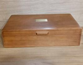 Naken's Tarnish Proof Wooden Silverware Chest - $49.45