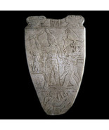 Narmer Palette Egyptian Museum wall sculpture plaque relief replica repr... - $49.49