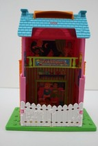 FISHER PRICE SWEET STREETS Dollhouse Go Anywhere Sleepover House - $21.77