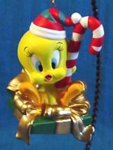 GOEBEL Looney Tunes TWEETY XMAS TWEET PRESENT P... - $27.99