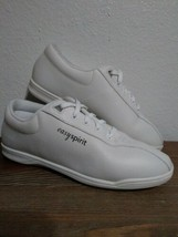 Easy Spirit White Leather ESAP1 Sneakers Walking Shoes Nurse Size 8.5 Me... - €12,80 EUR