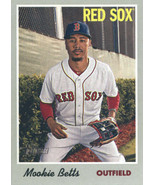 2019 Topps Heritage #78 Mookie Betts NM-MT Red Sox - $0.99