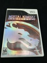 Mortal Kombat: Armageddon (Nintendo Wii, 2007) Complete FREE SHIPPING - $15.47