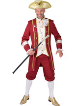 Pantomime Prince Charming Costume  - Wine / Gold   - $58.93+