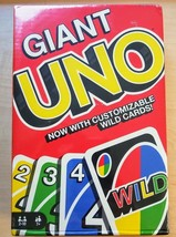 Classic Giant UNO Cards 3 Times Larger Family Game Great for The Beach o... - $15.83
