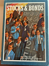 Vintage 1964 3M Stocks and Bonds Bookshelf Board Game Great Condition - ... - $18.69