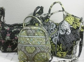 Vera Bradley Lot of 3 for Repurpose Crafts Shoulder Bags & Lunch Bag - £15.87 GBP