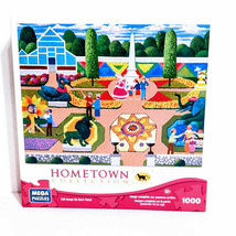 """Hometown Collection 1000 Pc Jigsaw Puzzle 18.94""""x26.75"""" Flower Festival - $21.28"""