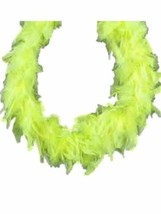 Fluorescent Yellow 45 gm 2 yds Chandelle Feather Boa - $6.99