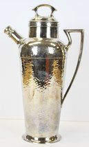 Derby Hand Beaten Silverplate Cocktail Pitcher Patented Jan 11, 1927 - $750.00