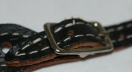 Pioneer Horse Tack 3575 Black Overlay Youth Spur Straps image 3