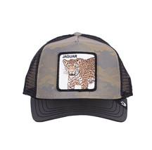 Goorin Bros Snapback Mesh Cap Jaguar Cat Pride Boss Patch Trucker Hat 101-2681 image 2