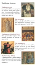 A Guide To Praying The Rosary ( 5 Pamphlet ) image 2