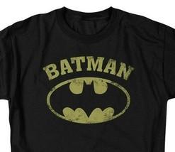 Batman DC Comics Superhero Distressed Batman Logo Graphic T-shirt BM2584 image 2
