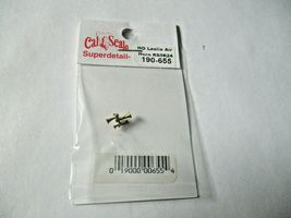 Cal Cal Scale # 190-655 Brass Leslie Air Horn RS5R24. 1 Pack HO Scale image 3