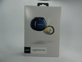 Bose SoundSport Free True Wireless Bluetooth Headphones Navy/Citron 774373-0020 - $143.54