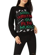 Ladies Mens Merry Christmas You Filthy Muggle Xmas Jumper US Size 4-14 (... - $18.53