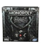 Monopoly Game of Thrones Board Game for Adults - $58.79