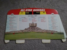 Vintage Cadaco MLB All Star Baseball Board Game No. 183 1968 Scoreboard - $7.92