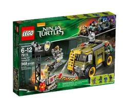 LEGO Ninja Turtles 79115 Turtle Van Takedown Building Set - $117.76