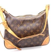 AUTHENTIC LOUIS VUITTON Monogram Boulogne Shoulder Bag MonogramCanvas M5... - $491.10 CAD