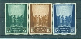 1944 Christ the Redeemer Vatican Postage Stamps Catalog Number 84-86 MNH