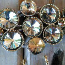 Chunky Rivoli Demi-Parure Bracelet w/ Earrings image 5