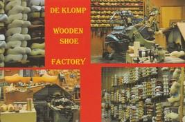 Postcard De Klomp Wooden Shoe Factory Holland Michigan Unused Continenta... - $5.93