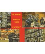Postcard De Klomp Wooden Shoe Factory Holland Michigan Unused Continental Card - $5.93