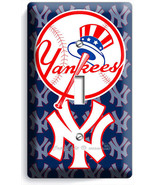 BASEBALL NEW YORK YANKEES TEAM LOGO SINGLE LIGH... - $9.99