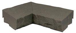 NextStone Sandstone Ledger Inside Corner Charcoal - 2 Per Box - $35.73