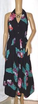 Java Wraps Beautiful Cotton Floral Print Halter Dress