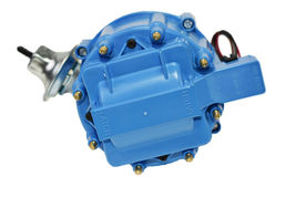 SBF Ford 260 289 302 302W V8 Coil Hei Distributor 50000 50K Volt w/ Blue Cap image 4