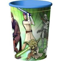 Star Wars: The Clone Wars - 16 oz. Hard Plastic Cup (1) Party Accessory - $9.68