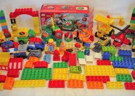 Lego Duplo disney Planes Cars Octan Vehicles Specilaty Pieces Bob Builder - $89.99