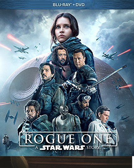 Rogue One: A Star Wars Story (Blu-ray/DVD, 2017)