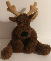 Hallmark Rodney Reindeer  COMET Plush Brown Metallic Christmas Stuffed P... - $17.00