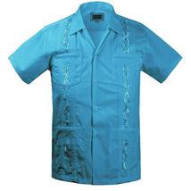 Guayabera Kids Toddler Junior Beach Wedding Baptism Button-Up Casual Dress Shirt image 13
