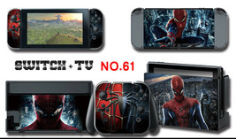 Vinyl Decal Skin Sticker Protector for Nintendo Switch Spiderman - $9.89