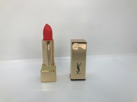 Yves Saint Laurent-Rouge Pur Couture The Mats FS Lipstick - #220 Crazy Tangerine - $19.16