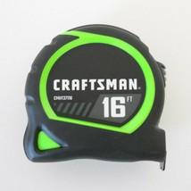 Craftsman by Stanley Hi-Vis Locking Tape Measure - 16 ft - Rubber Grip - New - $6.92