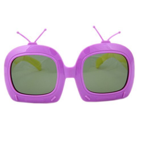 Toddler Sunglasses Kids Sun Protection Children Summer Eyewear PURPLE FRAME