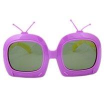 Toddler Sunglasses Kids Sun Protection Children Summer Eyewear Purple Frame
