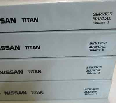 Primary image for 2010 Nissan Titan TRUCK Service Repair Shop Workshop Manual CD DISC VERSION OEM
