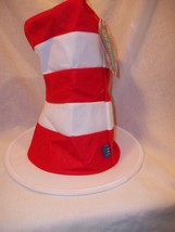 Dr Seuss Adult The Cat in the Hat NEW Stand up Hat Adult Size  Size - $17.00