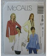 McCall's Pattern 4148 - Misses' Petite Tops and Tunics - Size BB (8, 10,... - $16.82