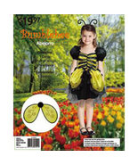 Girls Bumblebee Halloween Costume Size 8-10 Years - $15.00